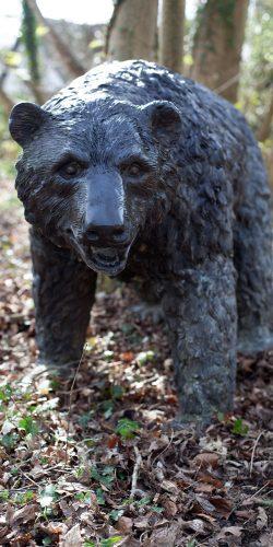 bronze bear